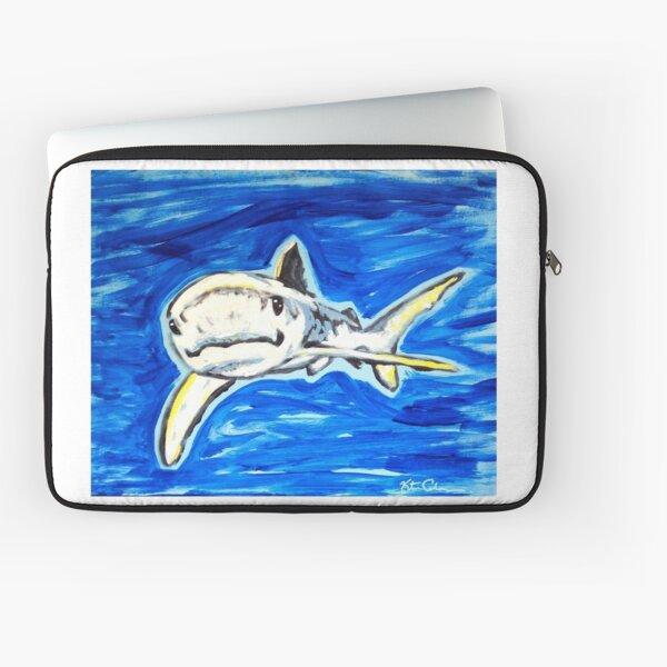 Sharks are friends not fiends Laptop Sleeve