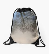 In the World of Oberon and Titania Drawstring Bag