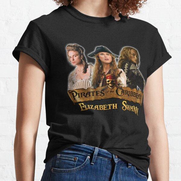 Elizabeth Swann Piraten des karibischen Tributs Classic T-Shirt