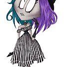 « Lolita à rayures » par darkrevette