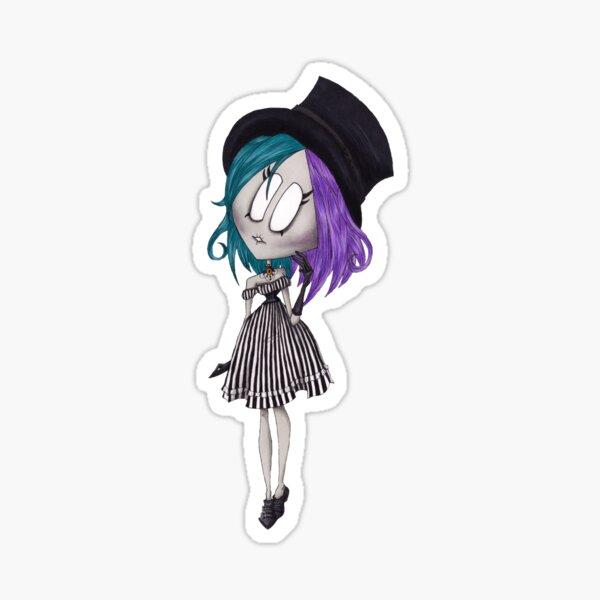 Lolita à rayures Sticker