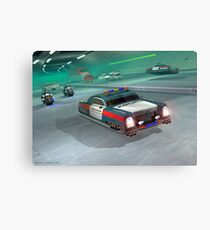 Fringe Police Cruiser Canvas Print