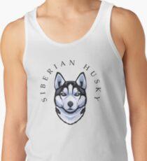 Siberian Husky Tank Top