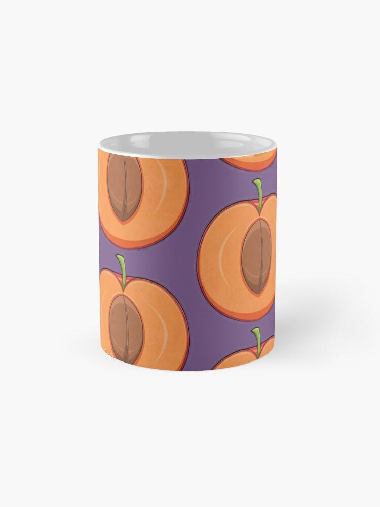Alternate view of Apricot Pattern Mugs