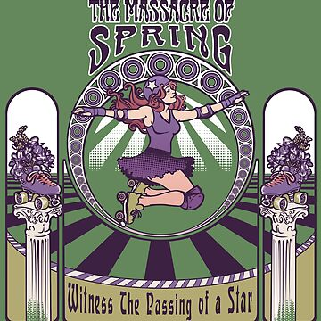 Roller Derby Nouveau: The Massacre of Spring (English) by DaniKaulakis
