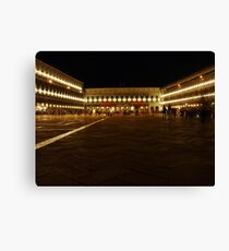 Piazza St Marco Canvas Print