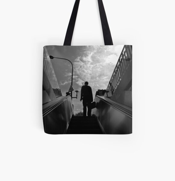 Subway exit Tote bag doublé