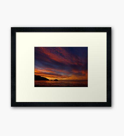 Tasmanian Sunrise Framed Print