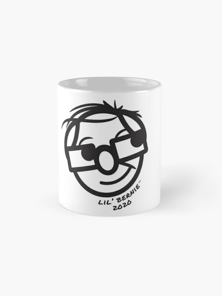 Alternate view of Lil' Bernie Face 2020 Mug