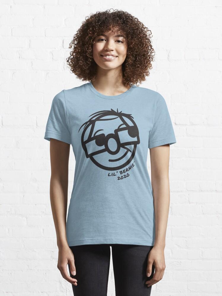 Alternate view of Lil' Bernie Face 2020 Essential T-Shirt