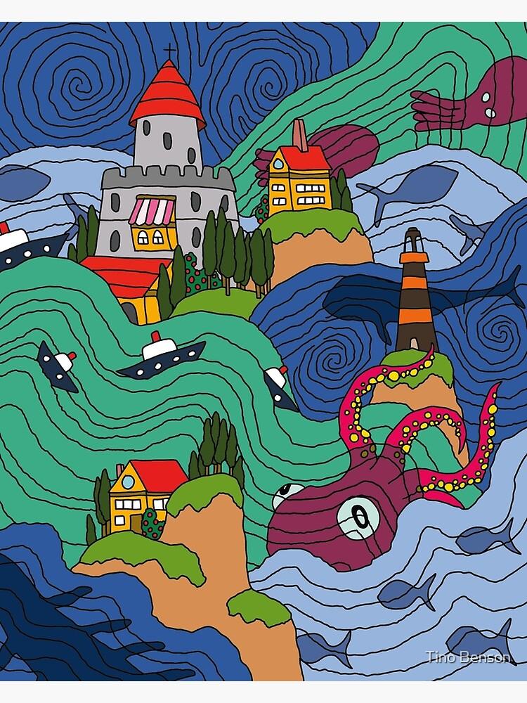 Ocean Mosaic by dukeofgarbanzo