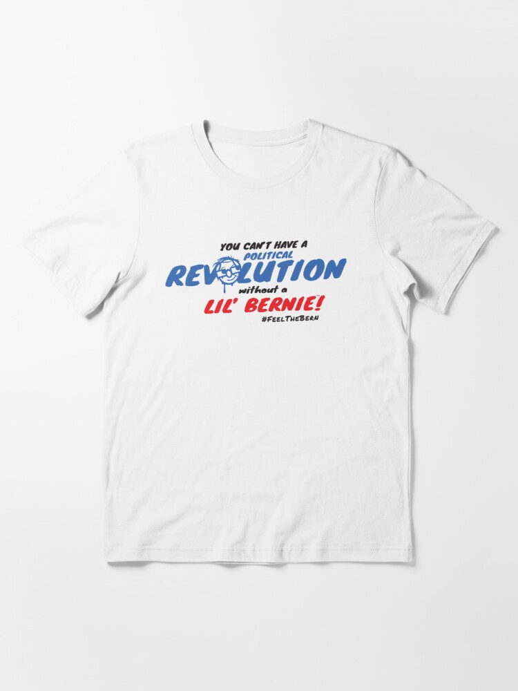Alternate view of Lil' Bernie Political Revolution 2020 Essential T-Shirt