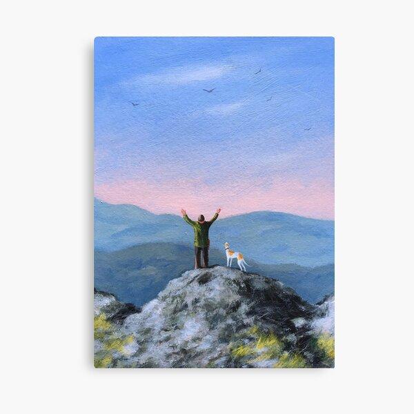 Sunshine and solitude.. Canvas Print