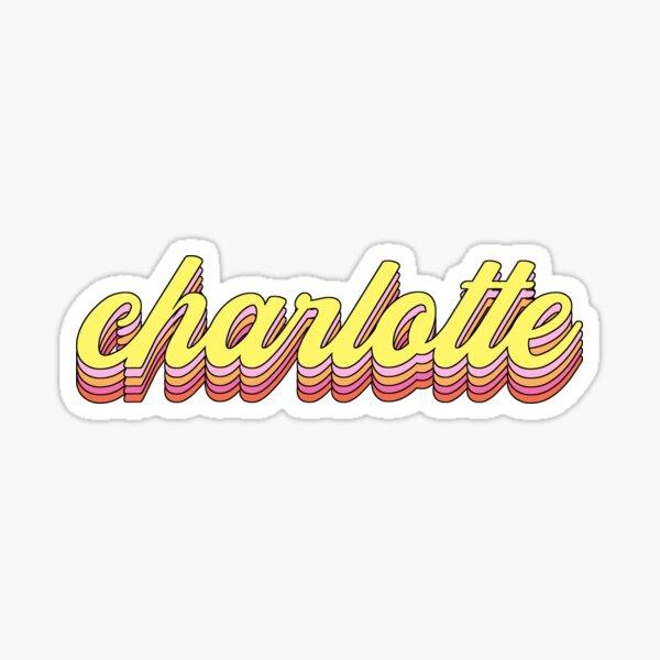 Retro Charlotte Sticker