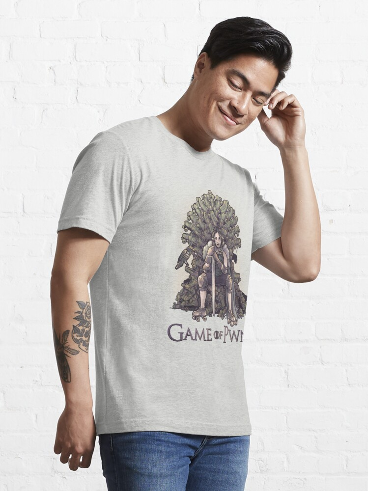 Alternate view of Game of Pwns Essential T-Shirt