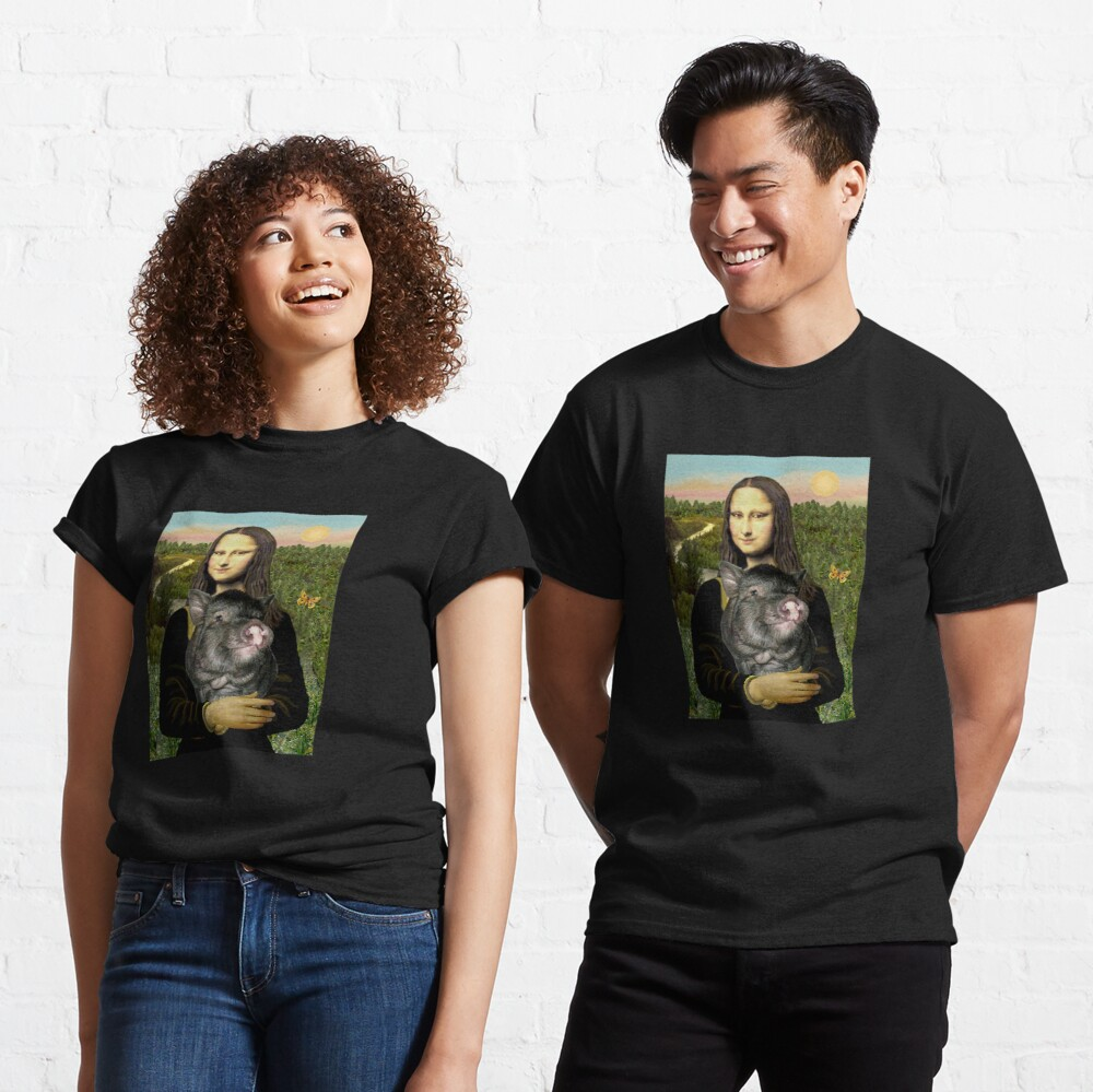 Mona Lisa and her Pot Belly Pig Classic T-Shirt