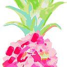 Pink Pineapple Fiesta by LIMEZINNIASDES