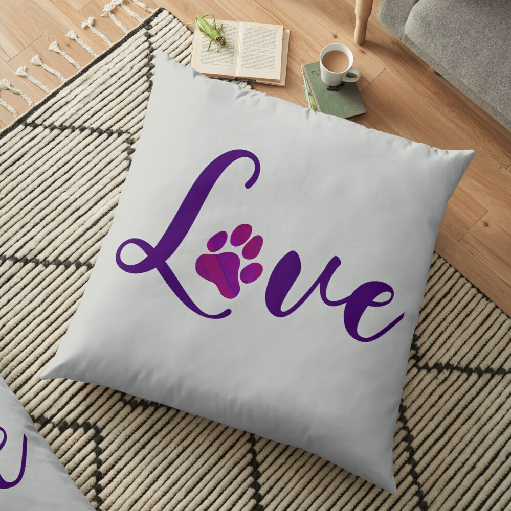 Animal lovers - Puppy love Floor Pillow