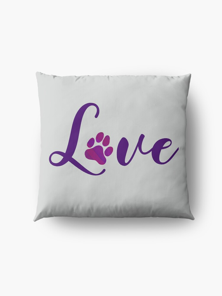 Alternate view of Animal lovers - Puppy love Floor Pillow