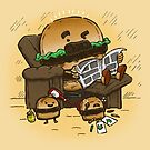 The Dad Burger by nickv47