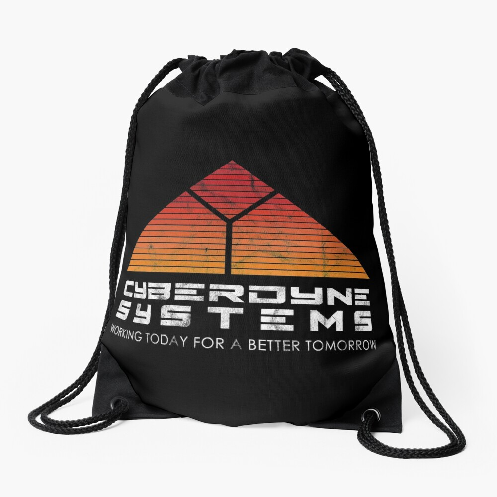 Cyberdyne Systems - Inspired by the Terminator Drawstring Bag