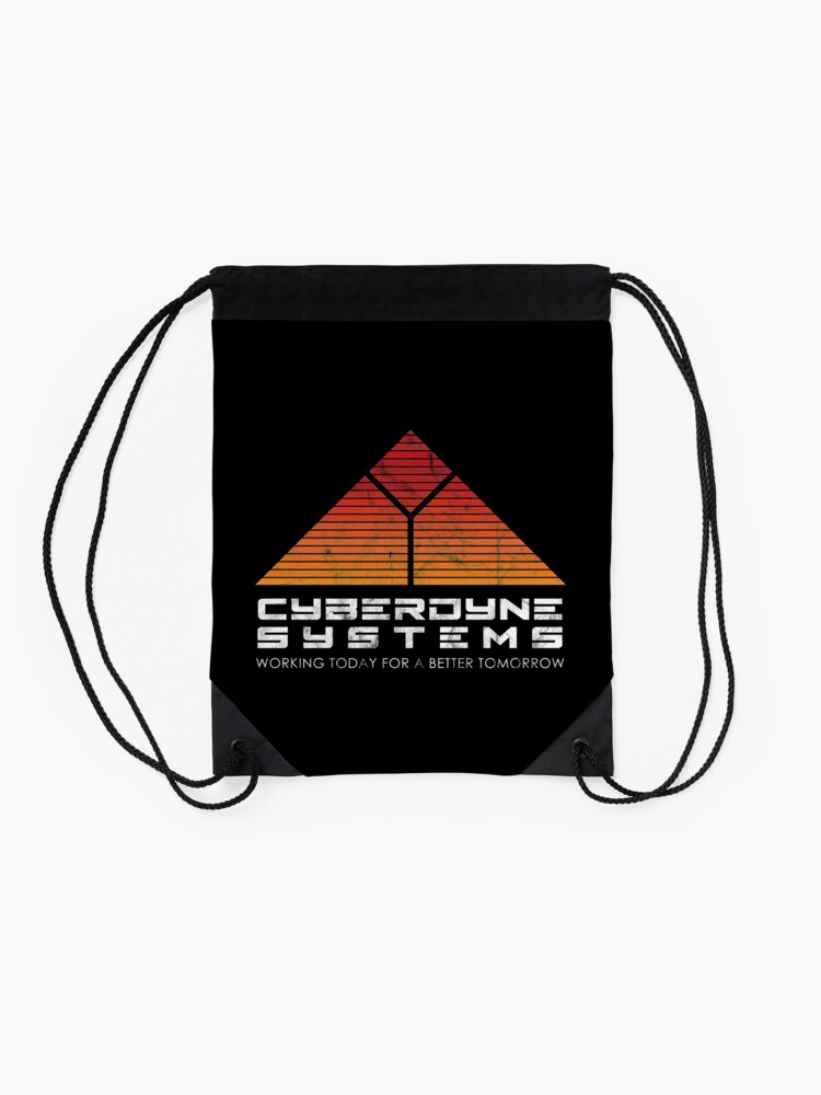 Alternate view of Cyberdyne Systems - Inspired by the Terminator Drawstring Bag