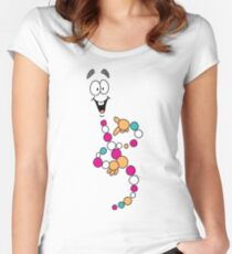 Dino DNA Women's Fitted Scoop T-Shirt