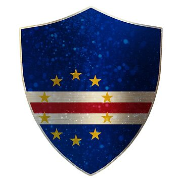 Cape Verde Flag Shield by ockshirts
