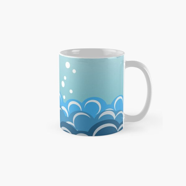 Sea Swimmers retro Classic Mug