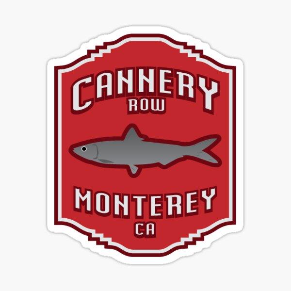 31. Cannery Row, Monterey, CA Sticker