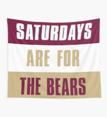 Saturdays are for The Bears, Kutztown University of Pennsylvania Tapestry