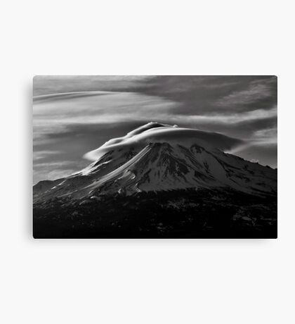 Mt.Shasta Ca. Canvas Print
