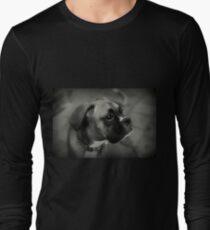 Eine Boxer-Profil ~ Boxer Dogs-Serie Langarmshirt