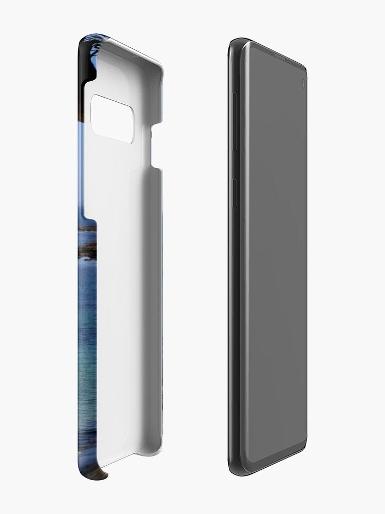 Alternative Ansicht von Das blaue Meer Hüllen & Klebefolien für Samsung Galaxy