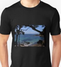 Das blaue Meer Slim Fit T-Shirt