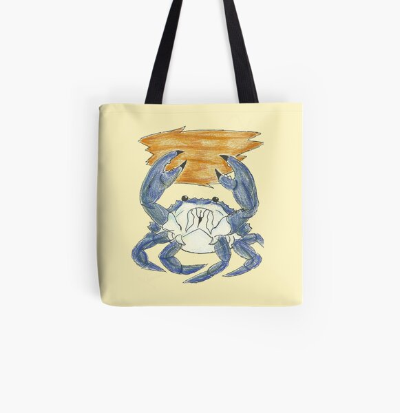 Crab Clambake All Over Print Tote Bag
