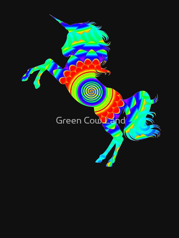 Rainbow Spiral Star Einhorn Design Poop Emoji von KaylinArt