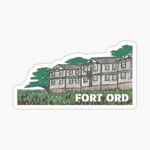 38. Fort Ord, CA Sticker