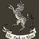 Team Zebra Sigil & Words by Dani Kaulakis