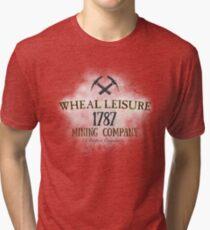 Wheal Leisure Mine 1787 - Poldark Vintage T-Shirt