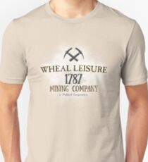 Wheal Leisure Mine 1787 - Poldark T-Shirt