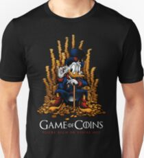 Game of Coins Slim Fit T-Shirt
