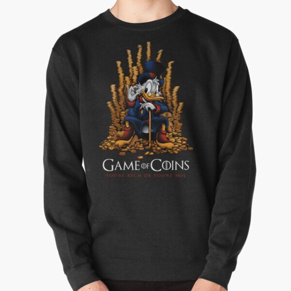 Game of Coins Pullover Sweatshirt