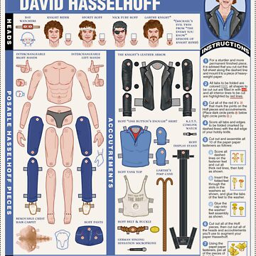 poseable david hasselhoff by saburokiyoshi