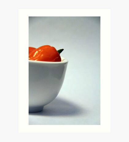 Habanero in Still Life Art Print