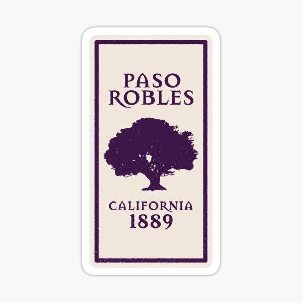 49. Paso Robles, CA Sticker