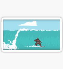 The Big Lez Show - Sassy Surfing Sticker
