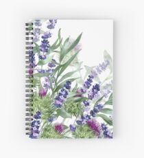 Hints of the Highlands Spiral Notebook