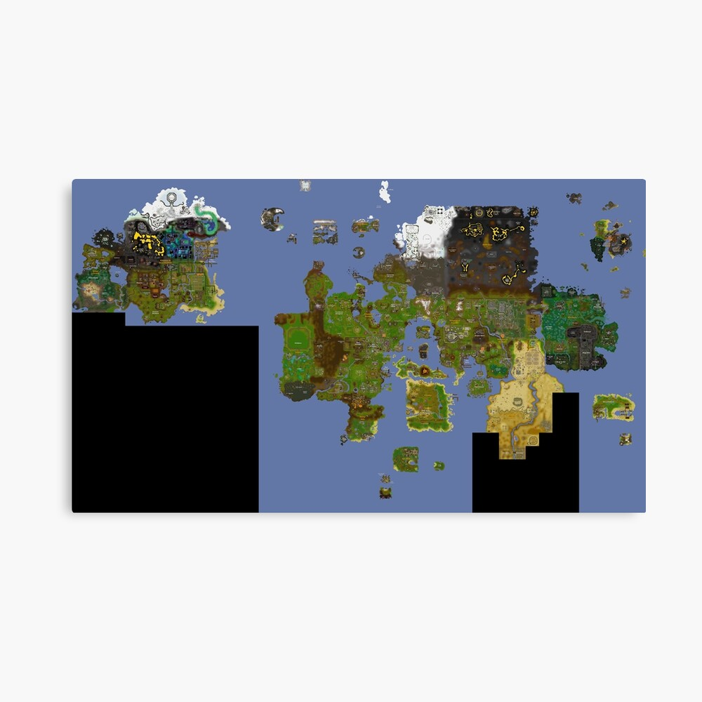 OldSchool Runescape World Map\
