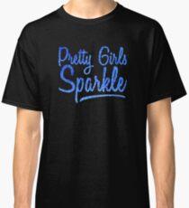 Camiseta clásica Pretty Girls SparkleBlue